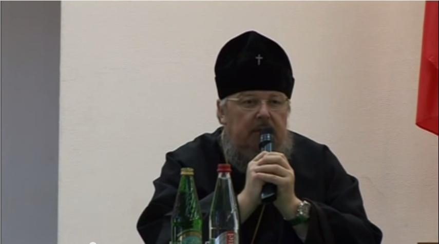 Лекция Митрополита Красноярского и Ачинского Пантелеимона в СибГАУ