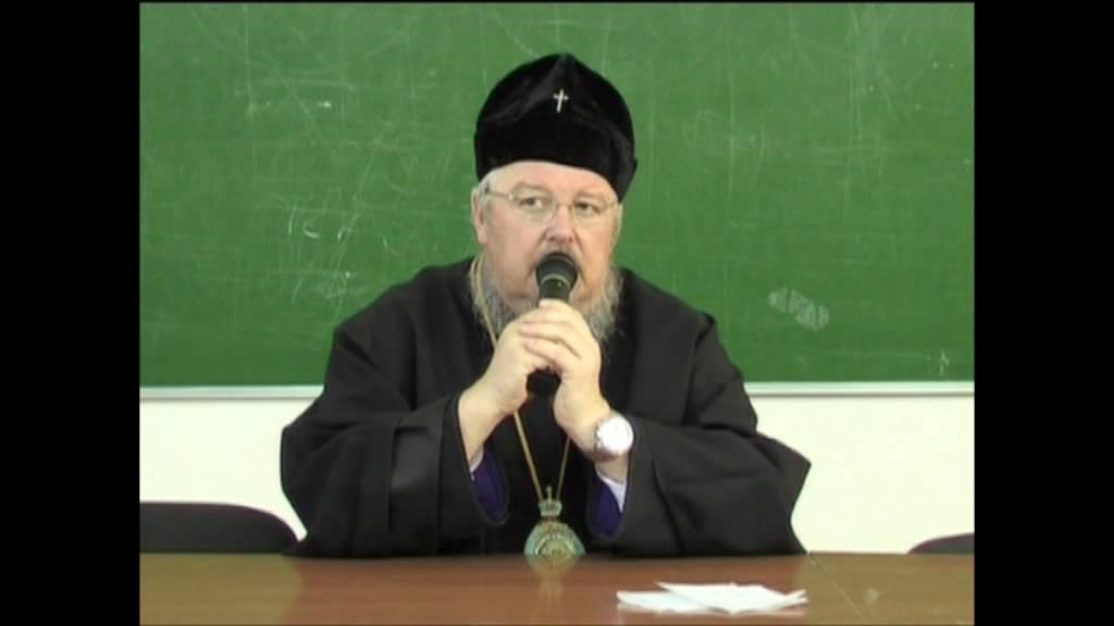 Лекция Митрополита Красноярского и Ачинского Пантелеимона в КГПУ