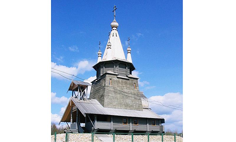 Из контекста:  Современные черты храмов в Росcии